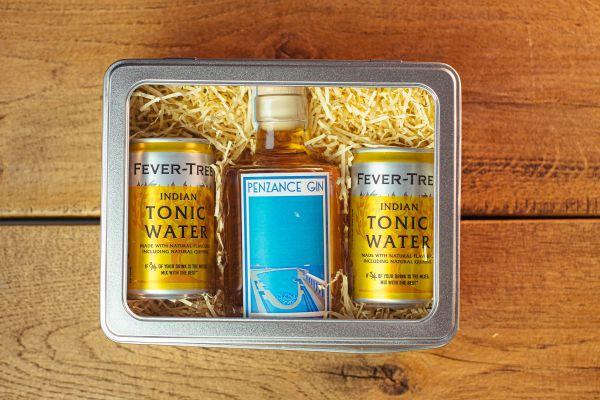 cornwall gin gift pack