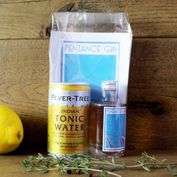 penzance bathtub gin gift pack-small